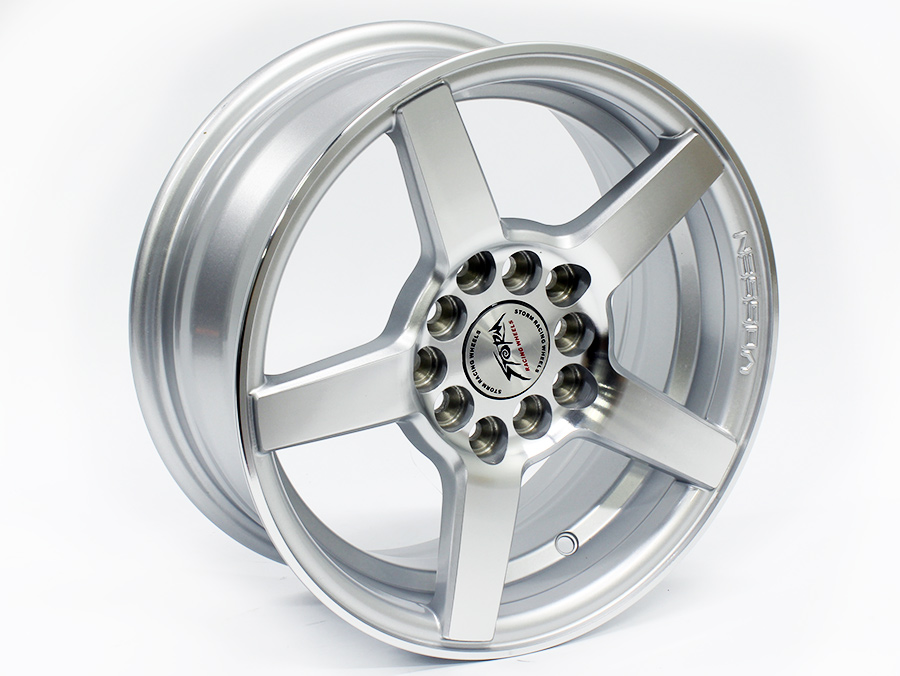 14″ ST Vector 5/100 & 5/114 Silver Alloy Wheels