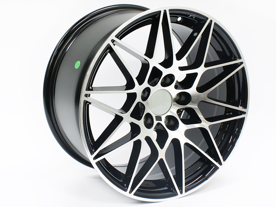 18″ ST Nova 5/120 Black Machined Face Alloy Wheels