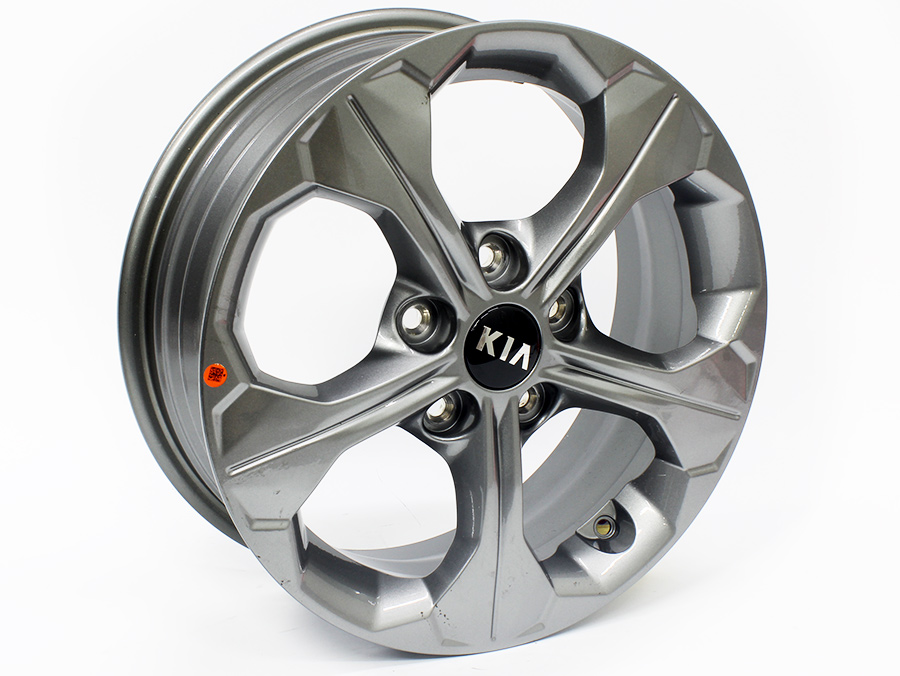 16″ Kia 5/114 Gunmetal Alloy Wheels