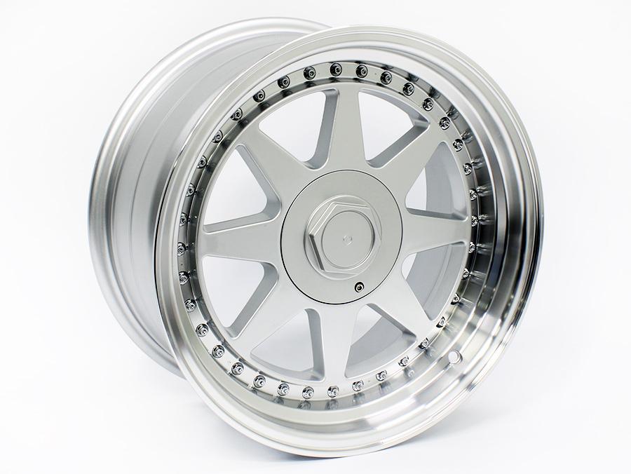 17″ JA905 4/100 & 4/114 Silver Alloy Wheels