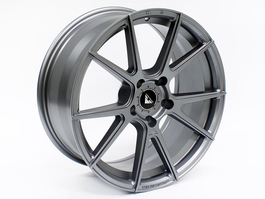 18″ ZK021 5/120 Grey Finish Alloy Wheels