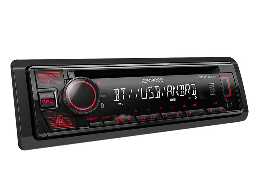 Kenwood KDC-BT530U Mp3 Cd Receiver with USB & Bluetooth