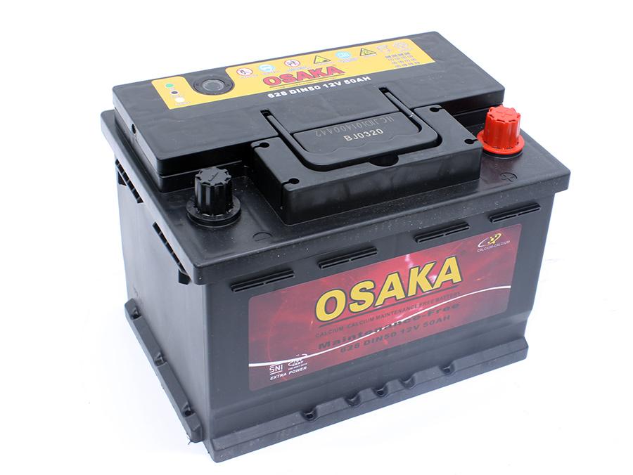 Osaka Vehicle Battery 628 size - 50AH