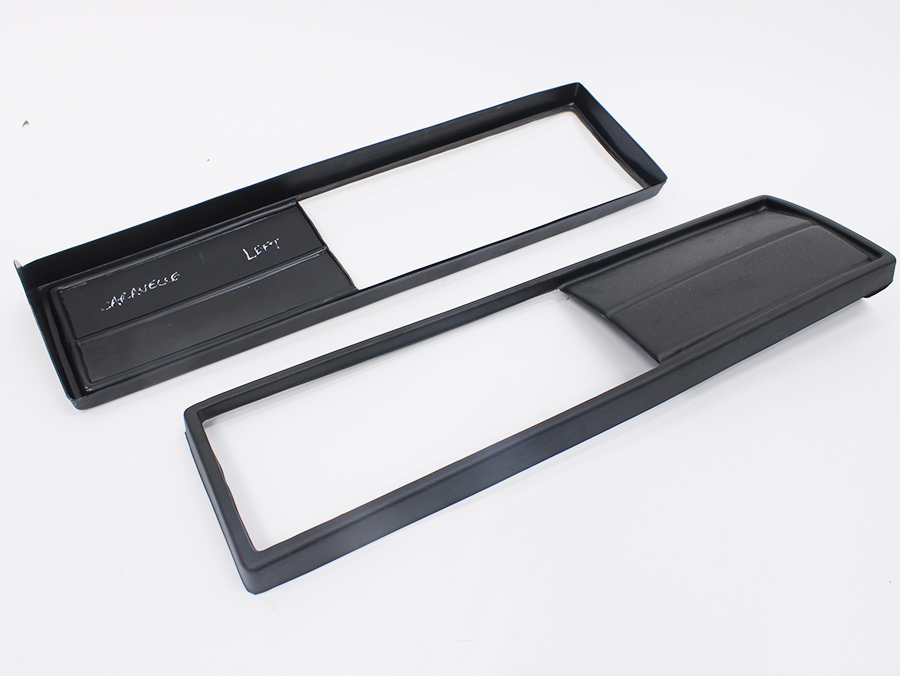 VW Microbus/Caravelle Rear Number Plate Prestige Panel