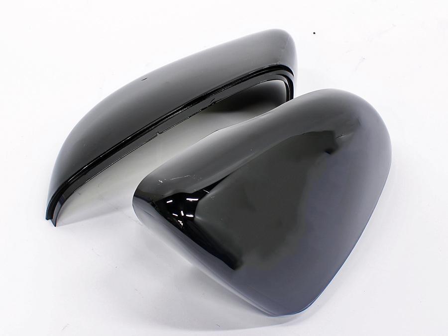 VW Golf Mk6 Gloss Black Mirror Cover Caps