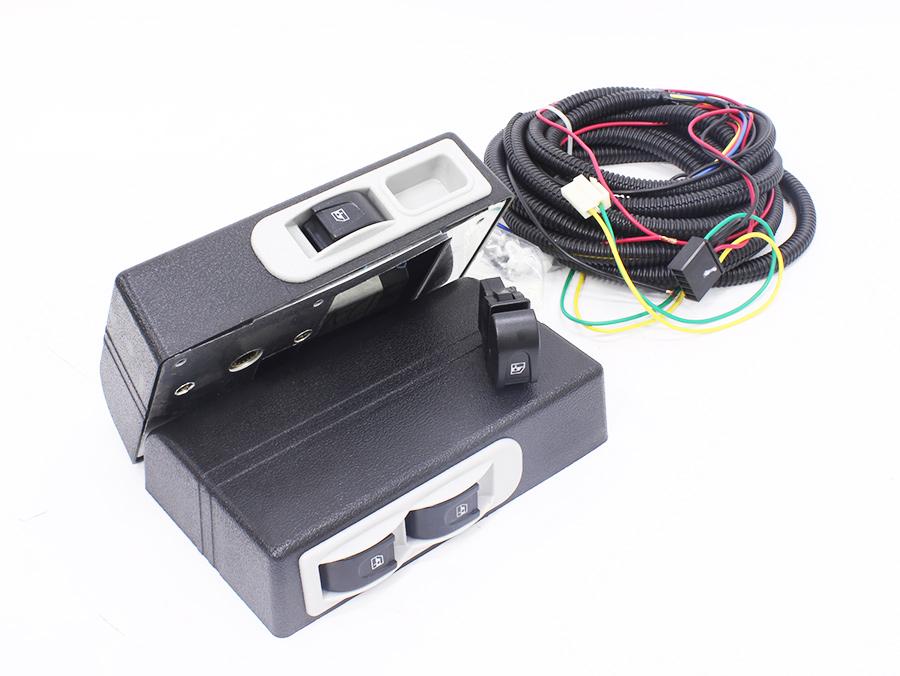 Electric Power Window Kit for 2 door models