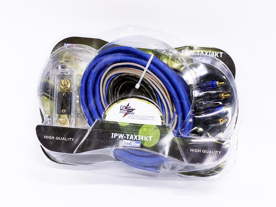 Ice Power 4gauge Taxi Amplifier & Car Audio Wiring Kit