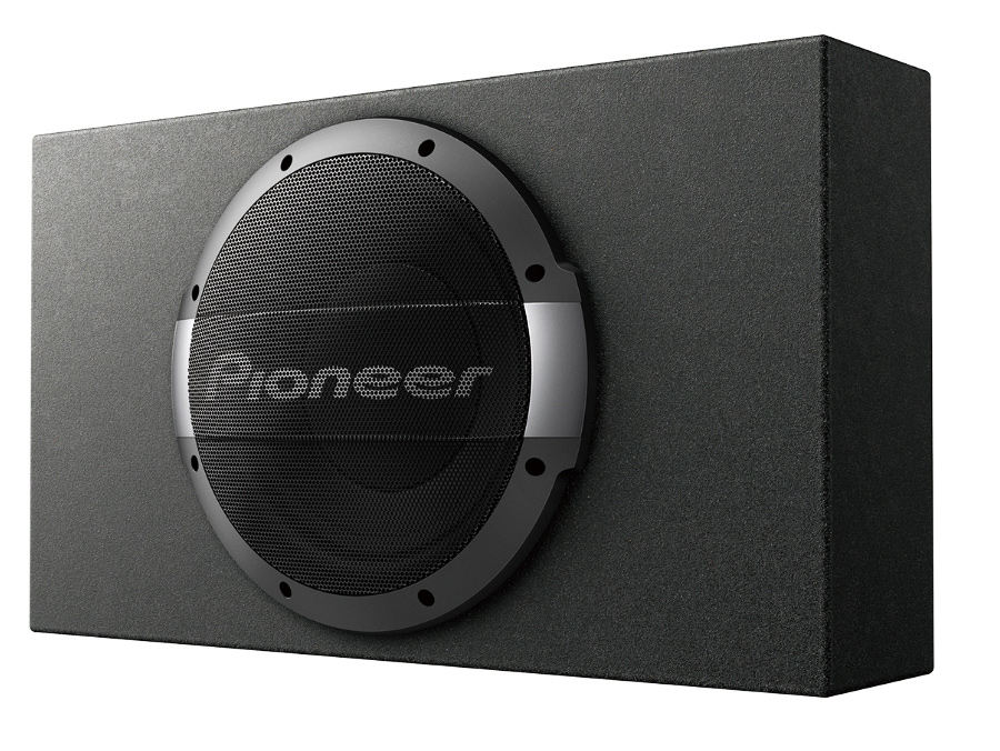Pioneer TS-WX1010LA 10″ 1200w/300rms Subwoofer, Enclosure & Amplifier