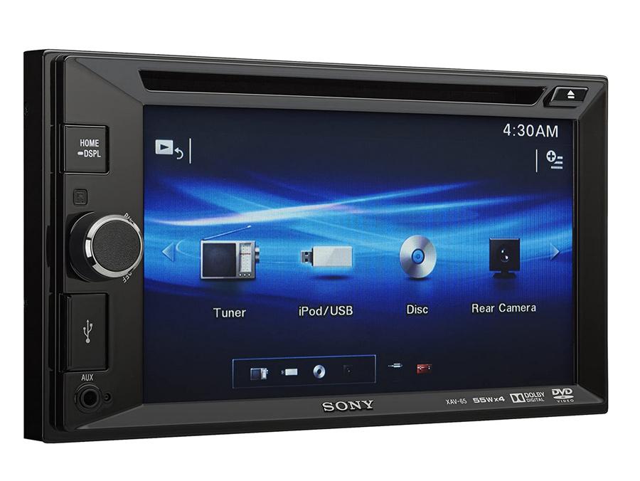 Sony XA-V65 Double Din Receiver with USB