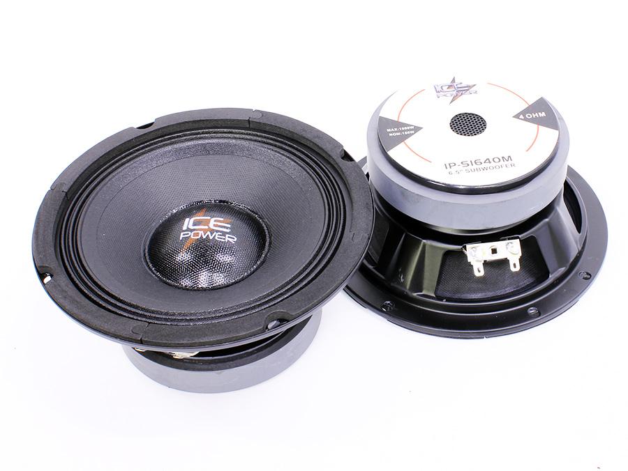 Ice Power IP-S1640M 6″ 1000w Midbass Speakers (pair)