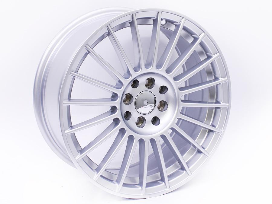 17″ QS SS284 5/100 Silver Alloy Wheels